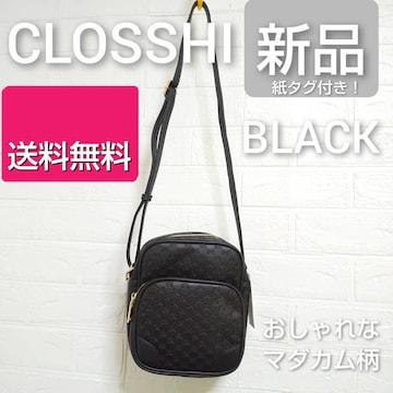大人気★CLOSSHI★ショルダーバッグ★マダカム柄 新品(タグ付