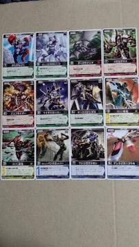 仮面ライダーカード レンジャーズストライク12種�N