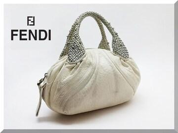 ☆FENDI☆フェンディ ミニスパイバッグ 白