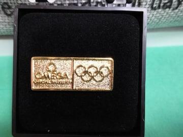 オメガ ノベルティ品 非売品 オリンピック オメガ ピンズ 未使用 新品