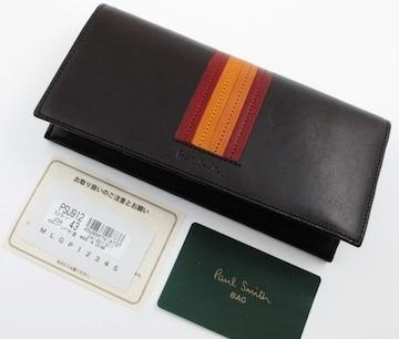 1点限り☆新品 ポールスミス カラーバンド 長財布 n35