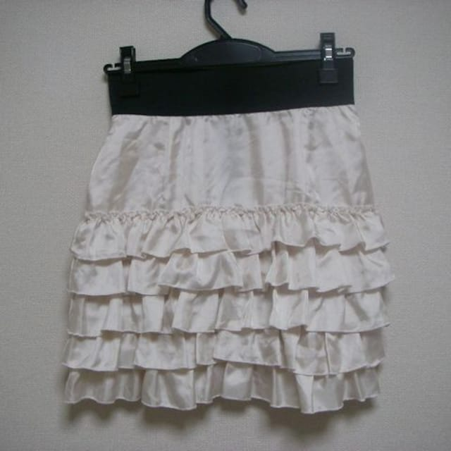 Ef-de エフデ ヒラミニ スカート サイズ 7  < ブランドの