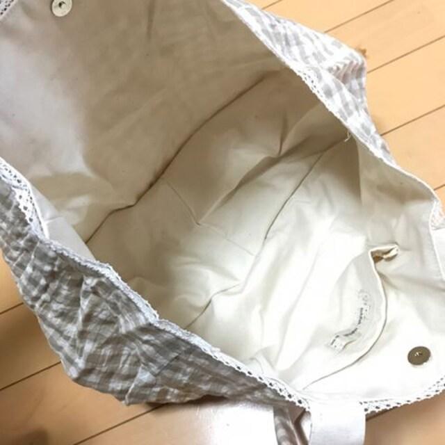 新品◆ticklish,ticklish◆ギンガムチェック トートバッグ < ブランドの