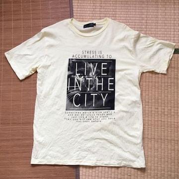 大きいサイズ・ロゴ&黒猫プリントTシャツ。