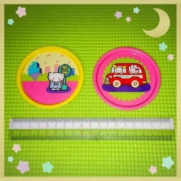 新品 ファンシー アニマル コースター セット 昭和 レトロ 雑貨