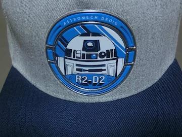 激レア【STARWARS】人気キャラクター【R2-D2】CAP