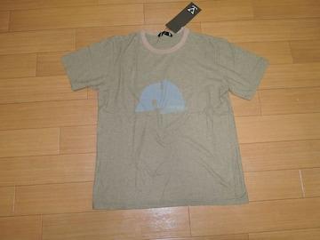 新品Varde77バルデ77カットソー1茶系トリムTシャツ