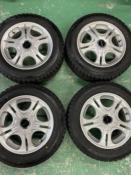 1082709激安国産グッドイヤ-スタッドレスタイヤアルミホイ-ルセット175/65R14送料無料