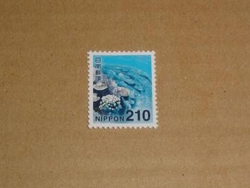 未使用 210円切手 1枚 普通切手