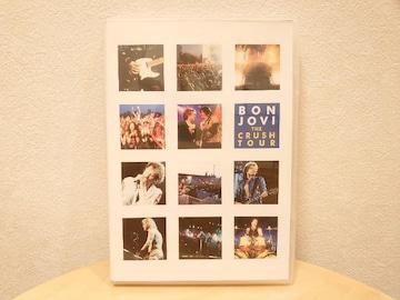 中古DVD★BON JOVI「THE CRUSH TOUR」美品