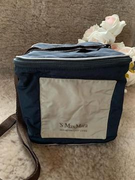 新品濃紺マックスマーラ キューブバッグ軽量&持ち運び○素敵☆