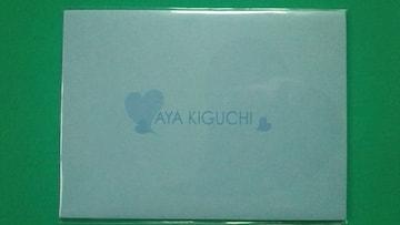 〓木口亜矢ボム台紙付3枚組テレカ
