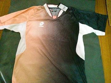 LOTTOサッカー半袖ゲームシャツXLブラック