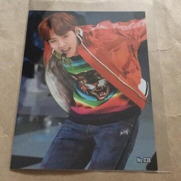 BTS☆ブロマイドカード☆J-HOPE☆No.038
