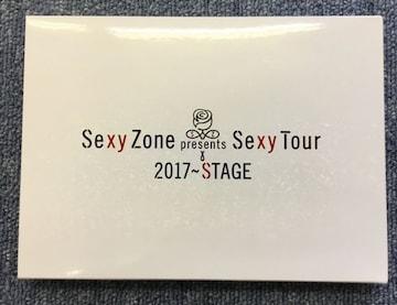 Sexy Zone Presents Sexy Tour 2017〜STAGE Blu-ray 初回限定