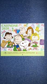 USJ ユニバーサルスタジオジャパン 「SNOOPY Calendar 2020」 スヌーピー カレンダー