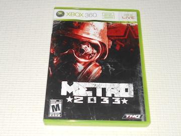 xbox360★METRO 2033 海外版(国内本体動作可能)