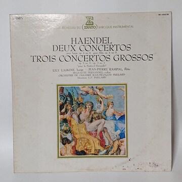 LP Haendel Deux Concertos Trois Concertos Grossos レコード
