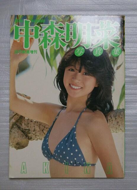 ★希少レア★中森明菜★パンフ・マガジン・写真集★ < タレントグッズの