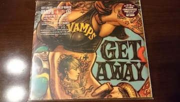 VAMPS「GET AWAY/THE JOLLY ROGER」初回DVD付/L'Arc-en-Ciel