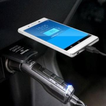 ★多摩電子  FMトランスミッター 4ch スマートフォン用 TT518K