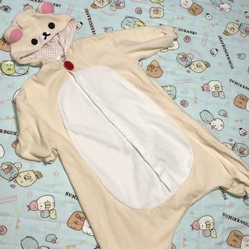 ♯コリラックマ♯フワモコ着ぐるみパジャマ〜130