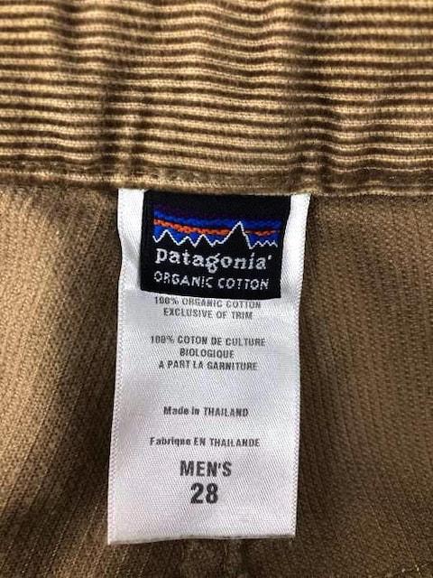 patagonia(パタゴニア)オーガニックコットンコーデュロイパンツデニムパンツ < 男性ファッションの
