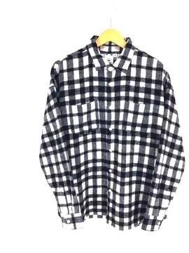 X-girl(エックスガール)シャギープレイドチェックシャツシャツ