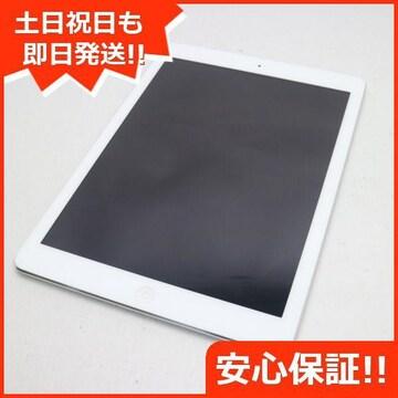 ●美品●iPad Air Wi-Fi 16GB シルバー●