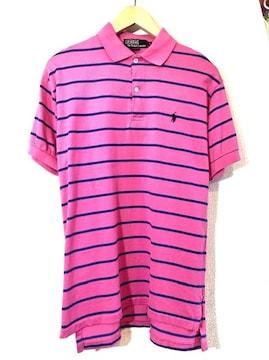 Ralph Lauren■ポロシャツ■USA製■ラルフローレン■ピンク