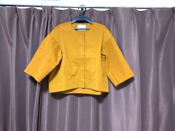 ☆ANAYI コットンライクツイルショートジャケット☆
