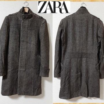 ZARA MAN ザラ ツイードコート S