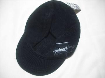 mn14 男 BILLABONG ビラボン ニット野球帽 L-XLサイズ 黒