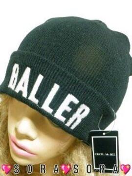 【CECIL McBEE/セシルマクビー】英ロゴ刺繍 ニット帽 ニットワッチ