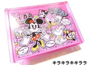 ミニーマウス&デイジーミラー付★小物入れ/収納ボックス/ジュエリーケース箱付