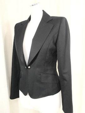 【22 OCTOBRE】カシミア入り黒のウールジャケット