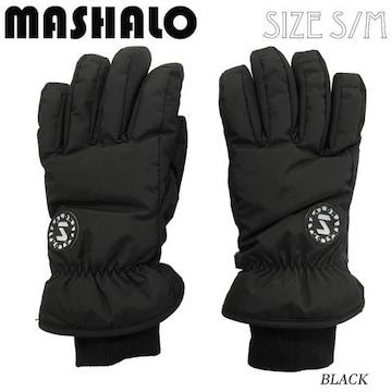 マシャロMASHALOスノーグローブ スキー レディース MSG-616 BLK