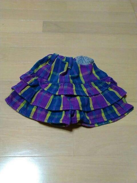 Size90cm/F .O. KIDS /スカート風短パン/年中素材// < ブランドの