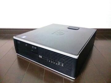 ★PC HP 6000 Pro SFF CPU&メモリ&SSD+HDDを強化 Win10Pro