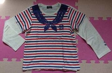 ムージョン購入☆KIDBOW☆長袖&半袖2枚セット☆size120