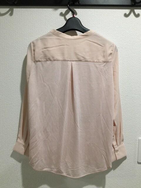 新品タグ付 VIS ビス 長袖 シャツ トップス ブラウス ピンク < ブランドの