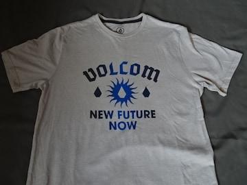 ボルコム【NEW FUTURE NOW】 ロゴプリントTシャツUS M