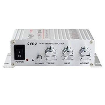 色LP-268 Lepy Hi-Fi ステレオアンプ デジタルアンプ カー アン