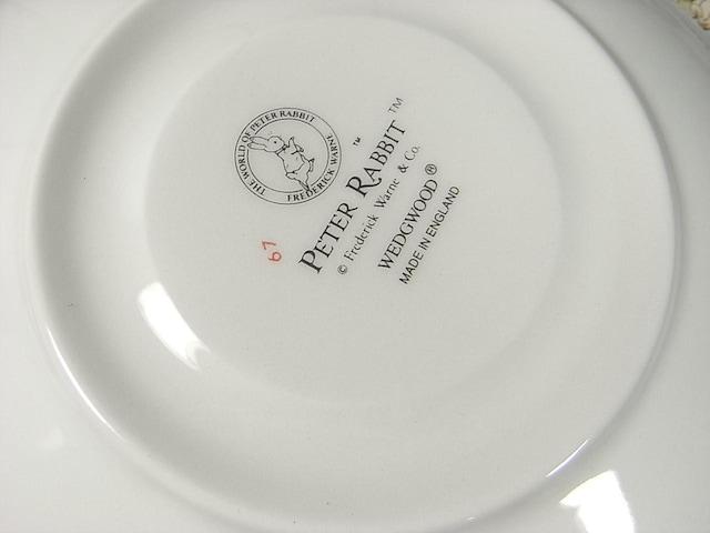 500スタ☆正規未使用ウエッジウッドピーターラビットカップ&ソーサー1客