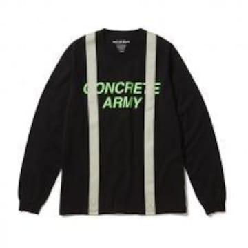 新品 ラフアンドラゲッド ROUGH AND RUGGED ロンTシャツ 1S 黒