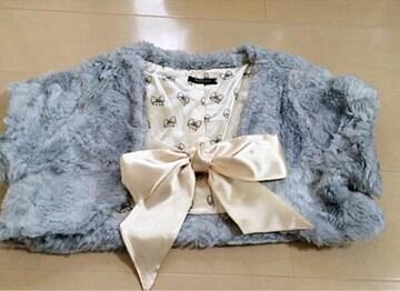美品☆ボア ショート丈ジャケット☆5点落札送料無料