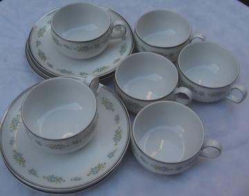 陶器コレクション:SANGOティカップ/6客セット未使用品0129