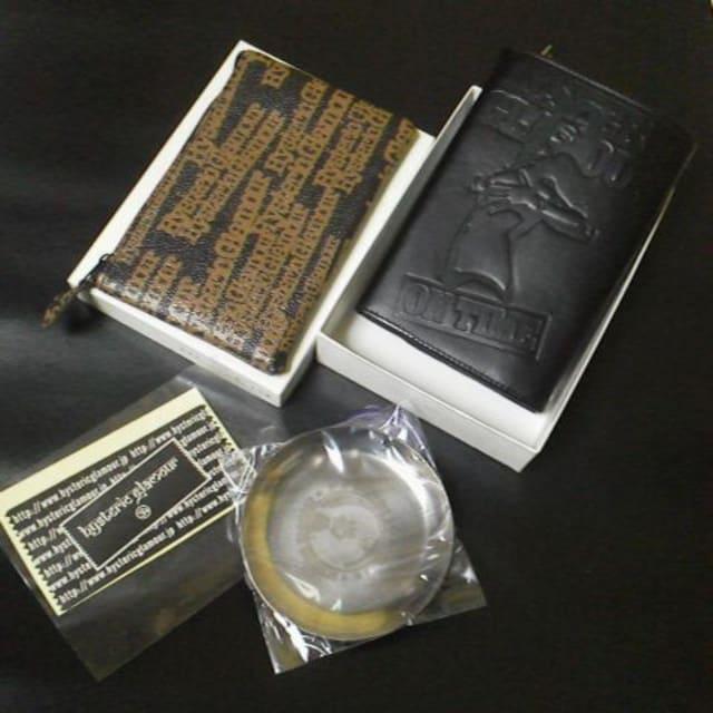 レア★HYSTERIC GLAMOUR/ヒステリックグラマー★総柄ロゴポーチ&皮革財布など < ブランドの