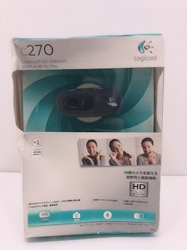 A193 未開封 Logicool HD Webcam C270 HD720p ウェブカメラ