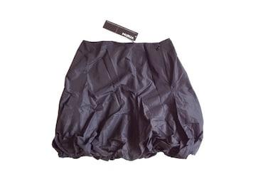 新品 定価6825円 MURUA ムルーア 黒 バルーン ミニ スカート